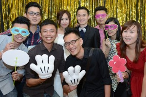 Photo Booth Rental – Chen Seng & Jessica Wedding Lunch