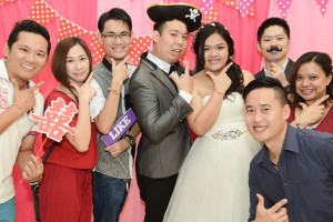 Photo Booth Rental – Jun & Belle Wedding Dinner
