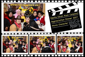 Event Photo Booth Malaysia – Nestle Appreciation Dinner