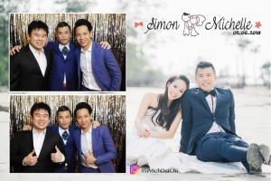 Wedding Photo Booth Malaysia – Simon & Michelle