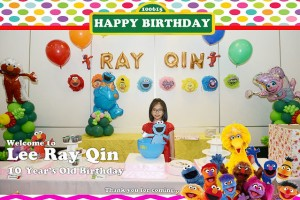 Photo Booth Rental – Ray Qin 10's Birthday Party